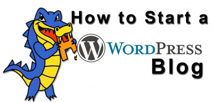 How to start a WordPress blog on Hostgator