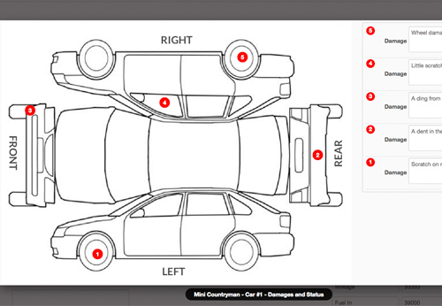 how to draw a car accident diagram
