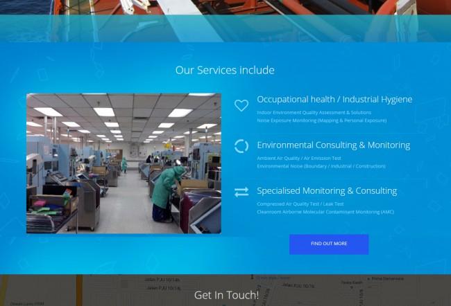 cms website client portfolio